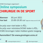 Tickets Symposium Chirurgie in de Sport nu te koop!
